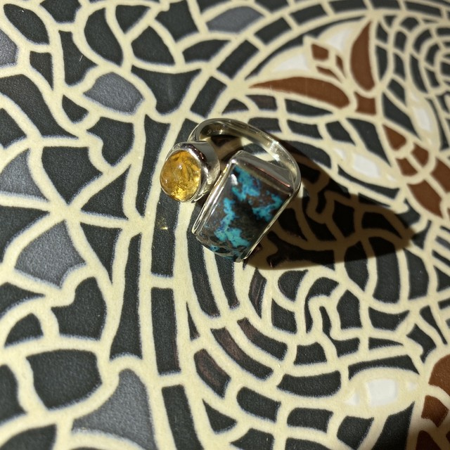 Combi ring -silver925-