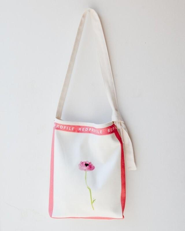 RED Profile一輪花・ショルダーバッグミニ・ピンク