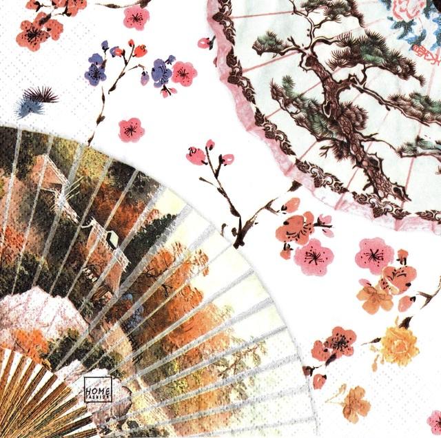 入荷しました【Home Fashion】バラ売り2枚 ランチサイズ ペーパーナプキン ASIA FLAIR ホワイト