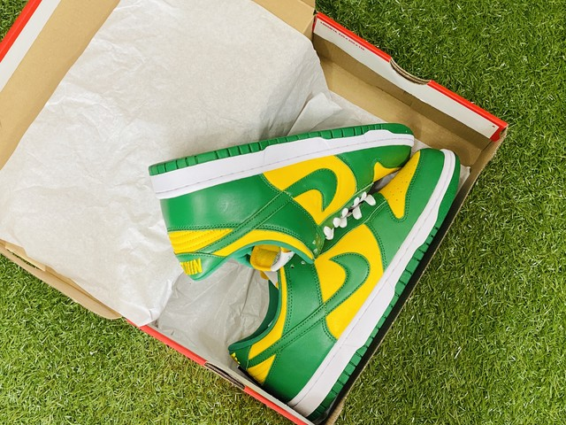 NIKE DUNK LOW SP BRAZIL 26.5㎝ CU1727-7001 150JG7508