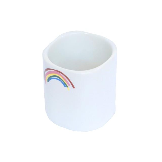 うそみたいなコップ (虹のカップ) 【1点モノ】