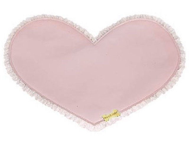 FOR PETS ONLY LOVELY Lunch Time Mat pink ANTIQUE (AI2019-M2-U)