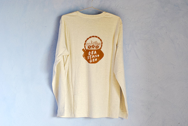 TEAシャツ 茶 / TEA-shirt Blown