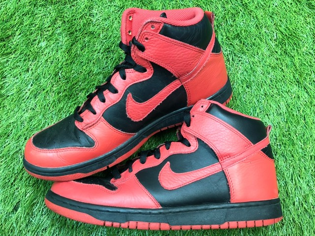 NIKE DUNK HIGH ACTION RED 317982-038 27.5cm  50JF6762