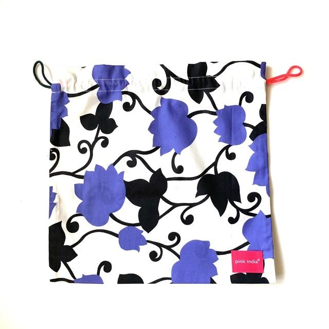 北欧デザイン 巾着 | matthew purple