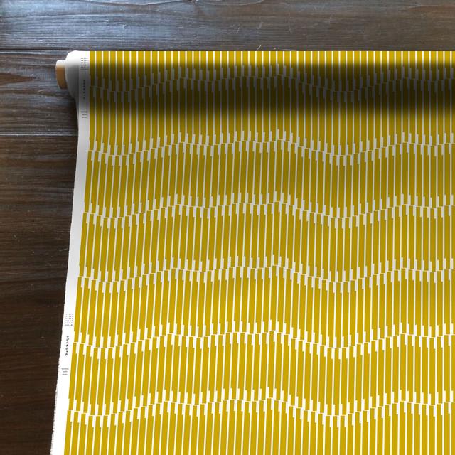 Sand crest(黄)[50cm×150cm]cotton100%