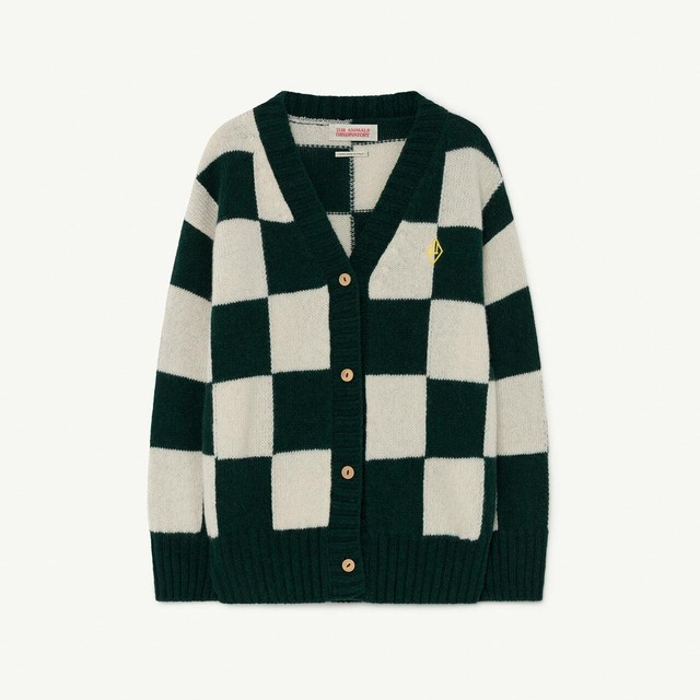 THE ANIMALS OBSERVATORY / TAO / SQUARES RACOON CARDIGAN