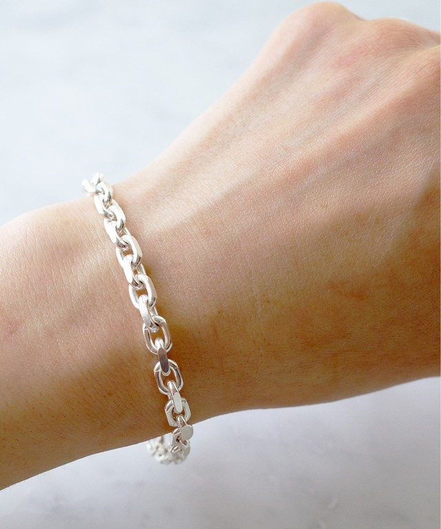 【ISOLATION / アイソレーション】silver925 Anchor Chain Bracelet