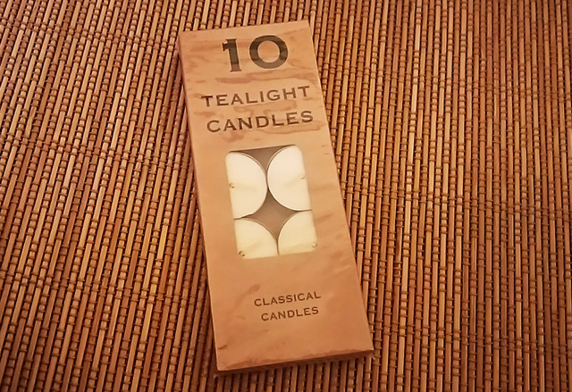 tea light candle 10個入り