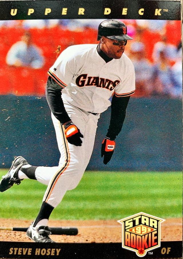 MLBカード 93UPPERDECK Todd Hundley #293 METS