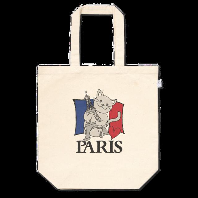 PARIS CAT トートバッグ