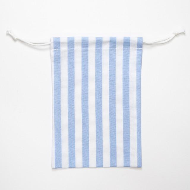 【annas Original】刺繍用きんちゃく小 ピンク/無地