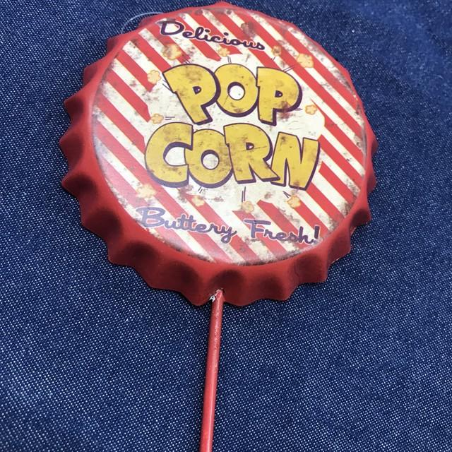 POPCORN クラウンキャップ  フック インテリア雑貨 アメリカ雑貨