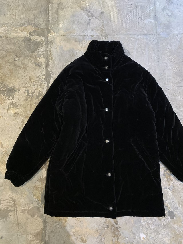 made in ITALY vintage velour coat