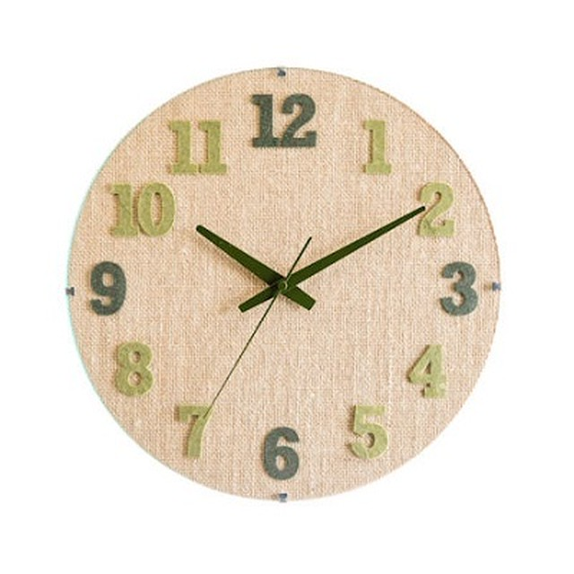 HEMP CLOCK【GREEN】