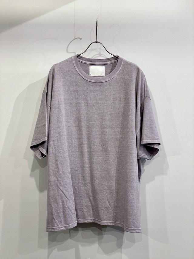 TrAnsference wide fit T-shirt - lavender garment dyed