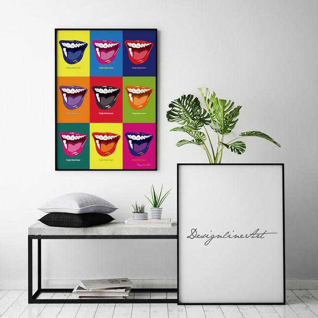 Orthodontic(Color)B2ポスター(フレーム入り)