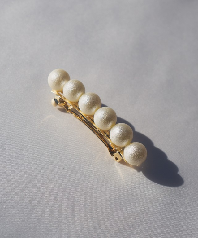 Cotton Pearl Hair Accessory