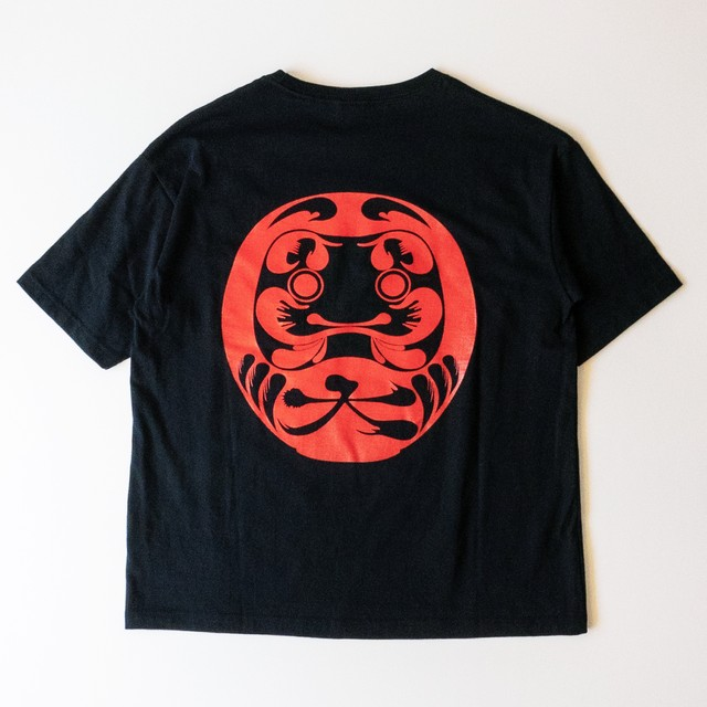 ポケットTシャツ ダルマ ブラック(T00007-03)