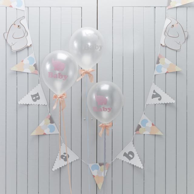 【ベビーシャワー&誕生日PARTY】★ベビー・バンティング (MJLO505)