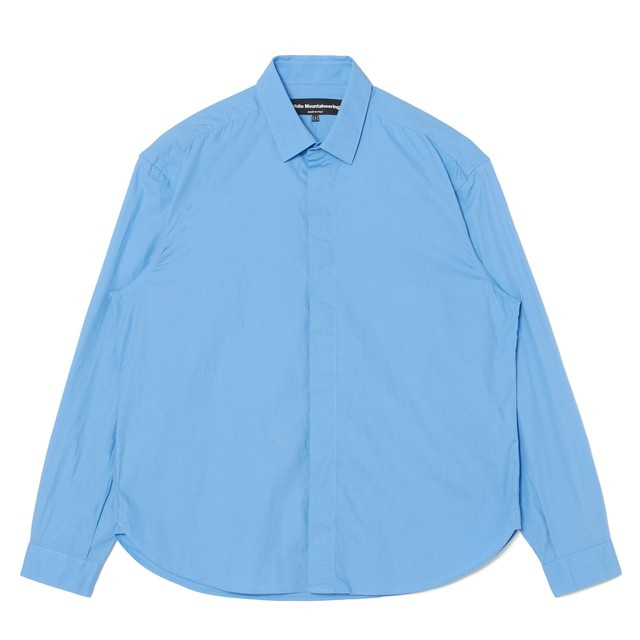 FLY FRONT SHIRT - BLUE