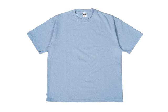 6/26[土]発売【super heavy weight T-shirt】/ dusty blue
