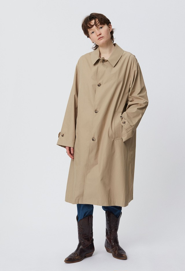 mfpen / ECHO COAT(BEIGE)