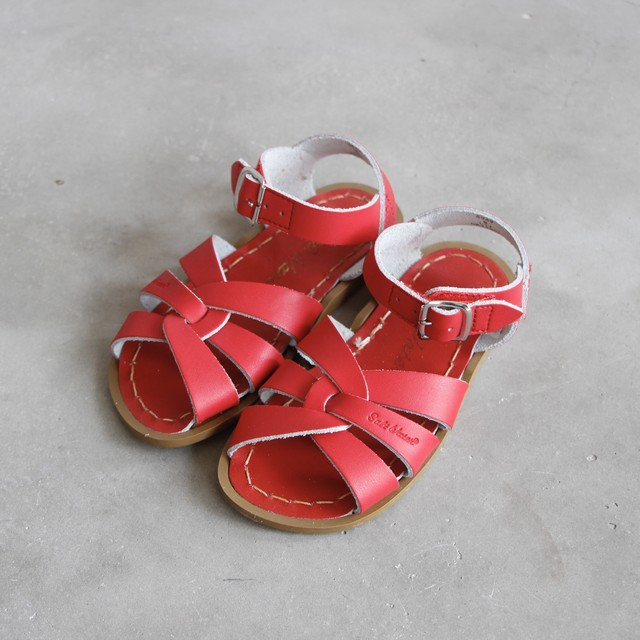 《SALTWATER SANDALS》Original / red / 13.3-15.7cm