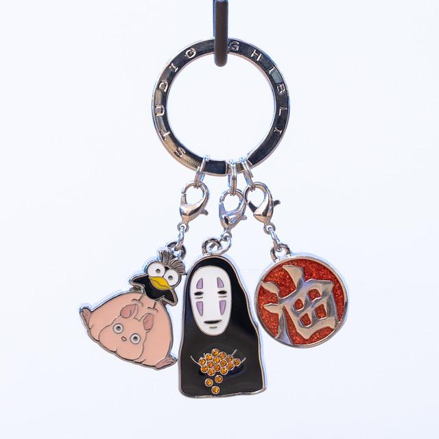 千と千尋の神隠し キーホルダー 3連キーリング(カオナシ/5952)