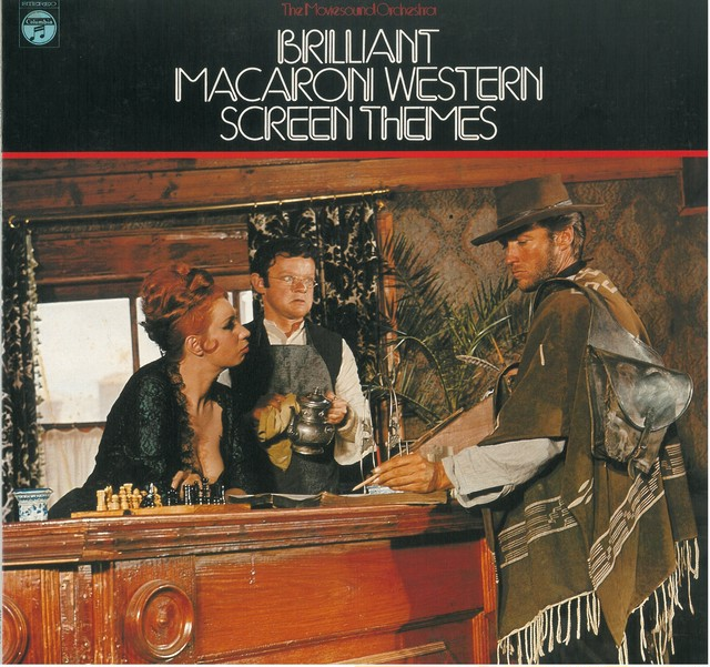 BRILLIANT MACARON WESTERN SCREEN THEMES / THE MOVIESOUND ORCHESTRA (LP) 日本盤