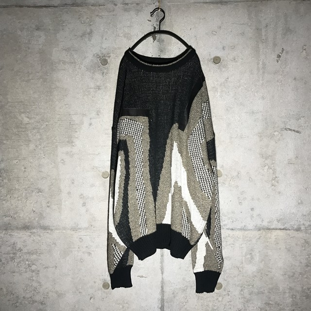 [used] fault imagined knit
