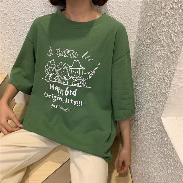 2021SS キュートなデザインTシャツ S1167