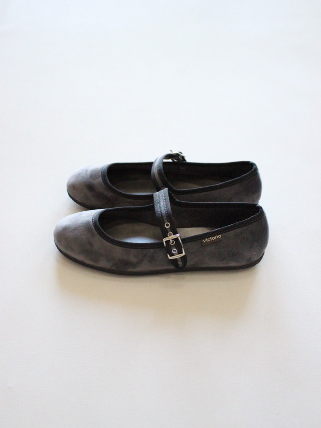 victoria  One strap Shose  GRIS  for ADULT