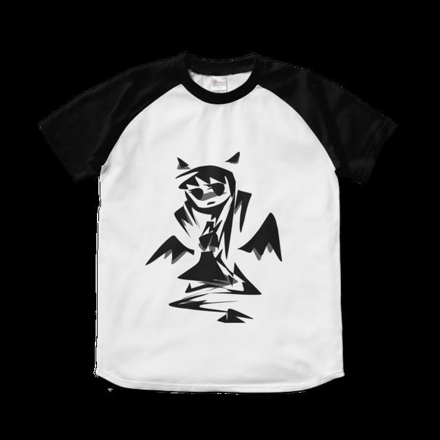 悪魔ちゃん/グレー*ラグランTシャツ