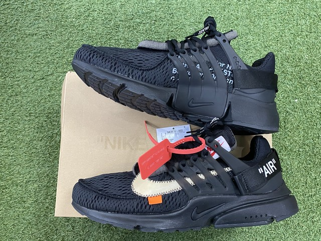 NIKE × OFF-WHITE THE 10 : AIR PRESTO BLACK 29㎝ AA3830-002 510JE6179