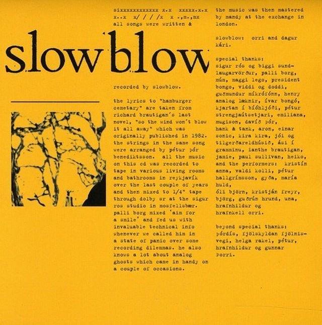 Slowblow『Slowblow』【音楽CD/北欧音楽/ロック/ポップ】