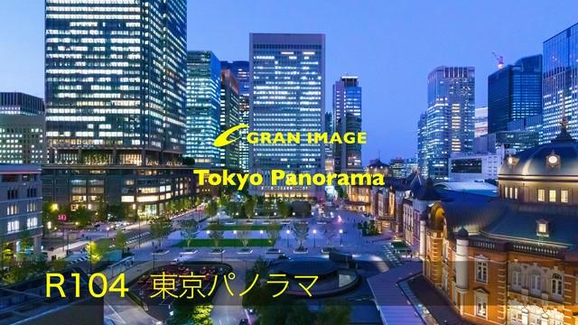 グランイメージ写真素材集 R104DL 東京パノラマ Tokyo Panorama(ダウンロード製品)