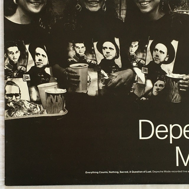 【12inch・英盤】Depeche Mode / Everything Counts (Live)