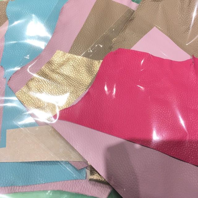 ☆再入荷☆お徳用カルトナージュ用薄革3色セット