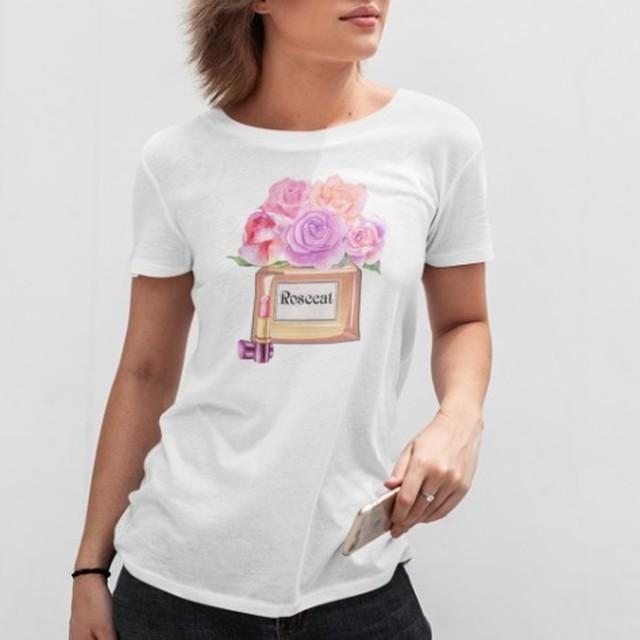 限定商品 Rosecat perfumebottle Tシャツ【R0589】先着10名様