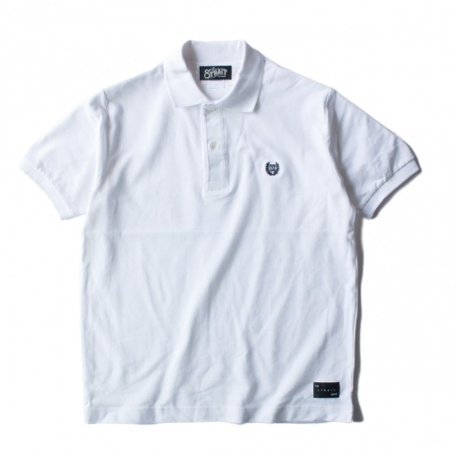 LAUREL S/S POLO-SH #WHITE