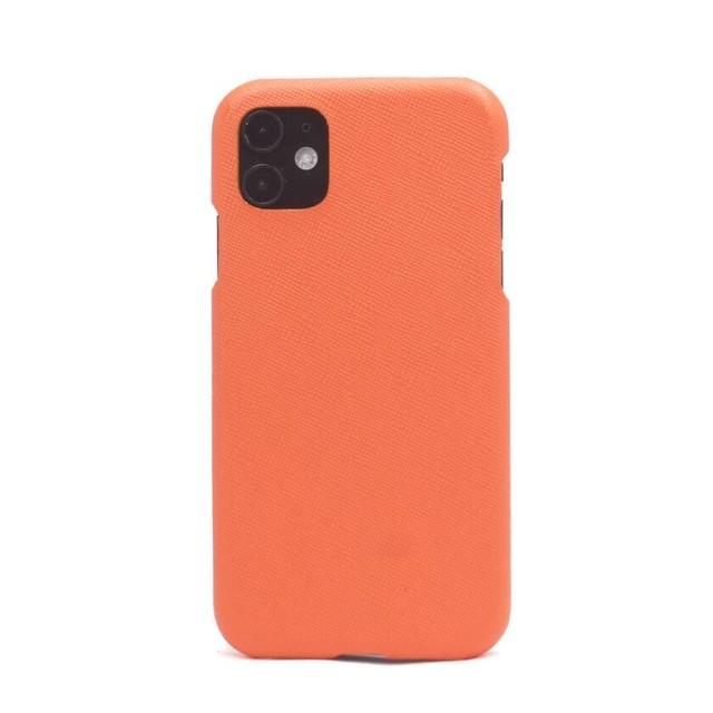 【オレンジ】シンプルケース  iPhone / Galaxy / Xperia /  Googlepixel / Huawei / Oppo Reno / AQUOS
