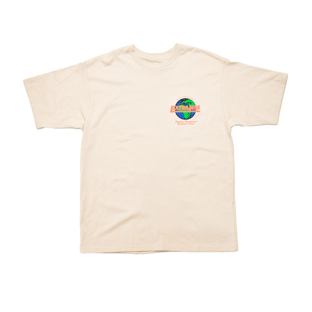 EXTRALESS Save The Planet S/S Tee Sand EX19SS0002