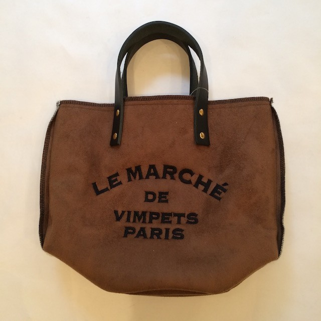 LE MARCHE FAKE MOUTON TOTE BAG