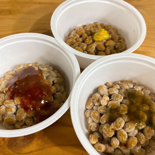 山口さんの納豆(たれからし・しそのり・ねぎみその3種から選択) 40g×2P