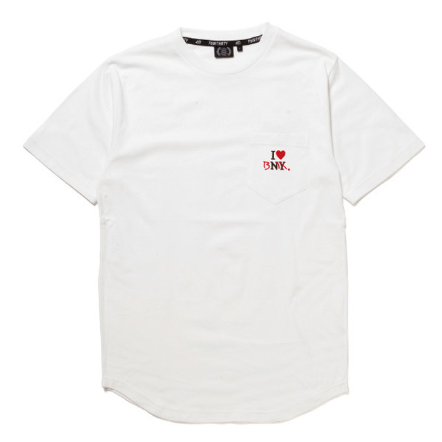 FOURTHIRTY (430) I LOVE BMX S/S POCKET ROUND TEE / WHT / サイズ1
