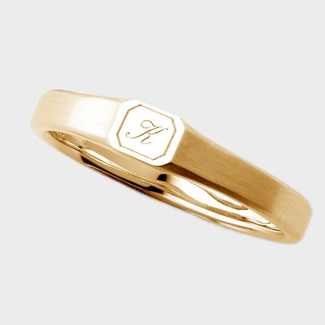 PORTADA BABY RING LOFTE(MEN'S MODEL)K18YG(ポルターダベビーリング ルフテ メンズモデル K18イエローゴールド)