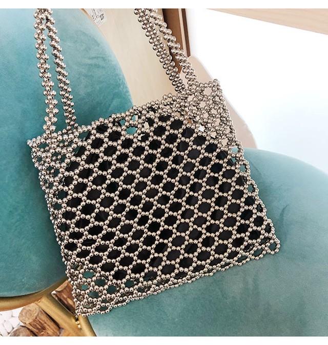 Metal beads  bag KRE873