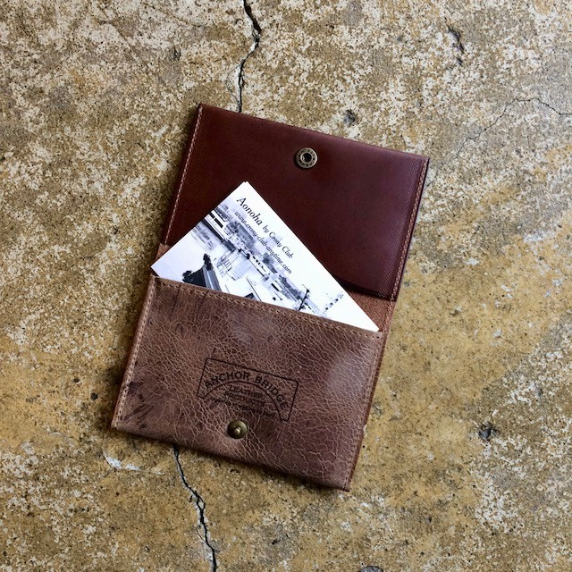 CARD CASE    KUDU ITALIAN LEATHER