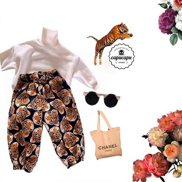 «先行予約SALE» tiger pants とらのパンツ